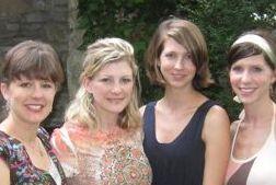 Sara, Melissa, Margy, Elizabeth